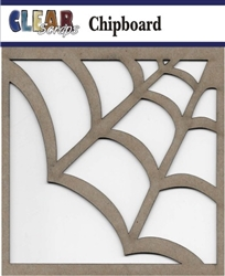 Spider Web Chipboard Embellishments