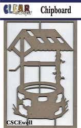 Wishing Well Chipboard Embellishments