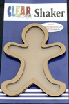 Mini Shaker GINGERBREAD MAN