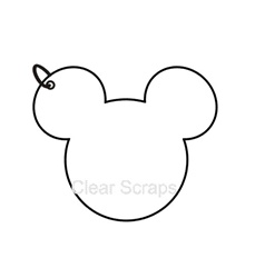 Mini Mouse Head Album