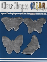 Butterflies Mirror Embellishments