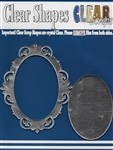 Oval Fancy Mirror Frame