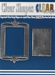 Rectangle Deco Top Mirror Frame