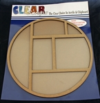 Circle Printer Tray Frame