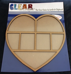 Heart Printer Tray Frame