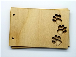 Paws Wood Card