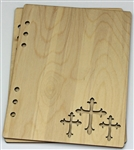 Crosses 6X8 Wood Album