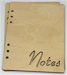 Notes 6X8 Wood Album