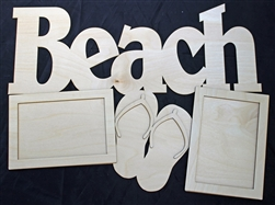"Beach 1/8"" Birch Wood Frame"