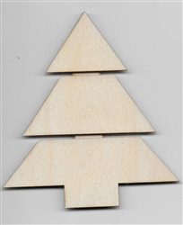 X-Mas Tree Mini Pallet Shape