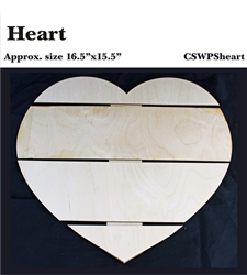 Heart DIY Pallet Shape