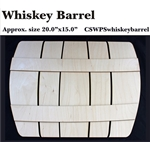 Whiskey Barrel DIY Pallet Shape