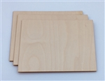 Wood Rectangles 3 pack