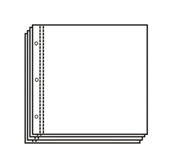 12X12 Top Load page protectors