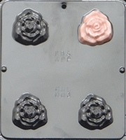 003 Rose Soap or Chocolate Candy Mold