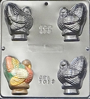 "1013 3"" Turkey Assembly Chocolate Candy