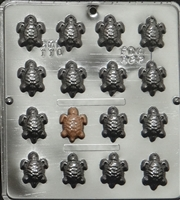 110 Small Turtle Chocolate Candy Mold