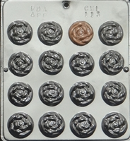113 Rose Mint Chocolate Candy Mold