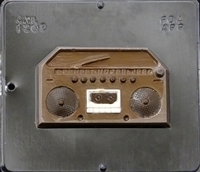 1202 Radio Boom Box Chocolate Candy Mold