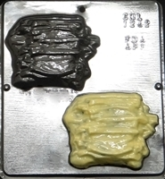 1242 French Fries Chocolate Candy Mold