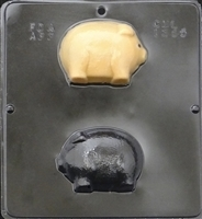 1265 Fat Pig Assembly Chocolate Candy Mold