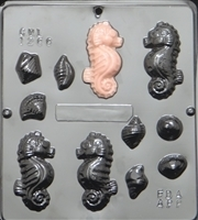 1266 Sea Horse Assembly Chocolate Candy Mold
