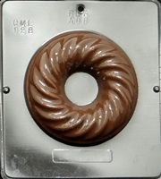 128 Large Decorative Ring Chocolate Candy