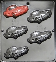 1286 Small Corvette Chocolate Candy Mold