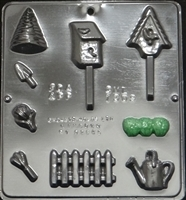 1309 Garden Display Chocolate Candy Mold