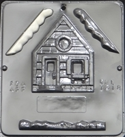 1318 Snow House Assembly 1 of 2 Chocolate Candy Mold