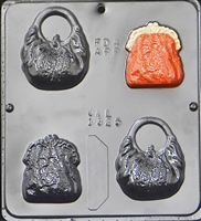 1325 Purses Chocolate Candy Mold