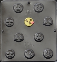 1346 Emoji Bite Size Chocolate Candy Mold