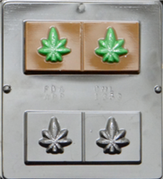 1353 Marijuana Bar Chocolate Candy Mold