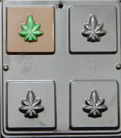 1354 Marijuana Bar Chocolate Candy Mold