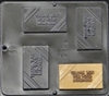 1503 Thank You For Your Business Chocolate Candy Mold