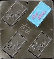 1505 Best Wishes Chocolate Candy Mold