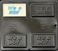 1511 It's a Boy Chocolate Candy Mold