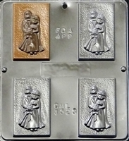 1523 Bride & Groom Chocolate Candy Mold