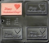 1531 Happy Valentine's Day Chocolate Candy Mold