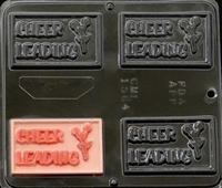 1564 Cheerleading Chocolate Candy Mold
