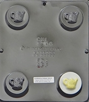 1608 Watering Can Oreo Cookie Chocolate Candy Mold