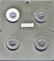 1611 Flower Oreo Cookie Chocolate Candy Mold