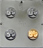 1615 Boo Halloween Oreo Cookie Chocolate Candy Mold