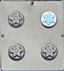 1618 Snowflake Oreo Cookie Chocolate Candy Mold