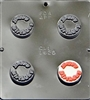 1625 Happy Birthday Oreo Cookie Chocolate Candy Mold