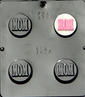 "1628 ""Mom"" Oreo Cookie Chocolate Candy Mold"