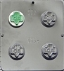 1657 Girl Scout Oreo Cookie Chocolate Candy Mold