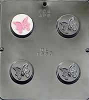 1663 Butterfly Oreo Cookie Chocolate Candy Mold