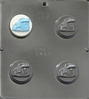 1667 Baby Bootie Oreo Cookie Chocolate Candy Mold