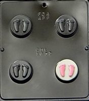 1672 Baby Feet Oreo Cookie Chocolate Candy Mold